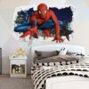 Adesivo Murale 3D - Spider-Man