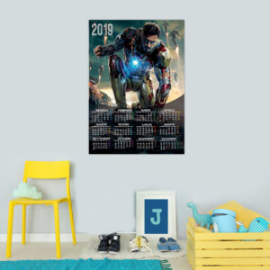 Calendario ~ Iron Man