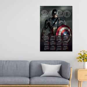 Calendario ~ Capitan America