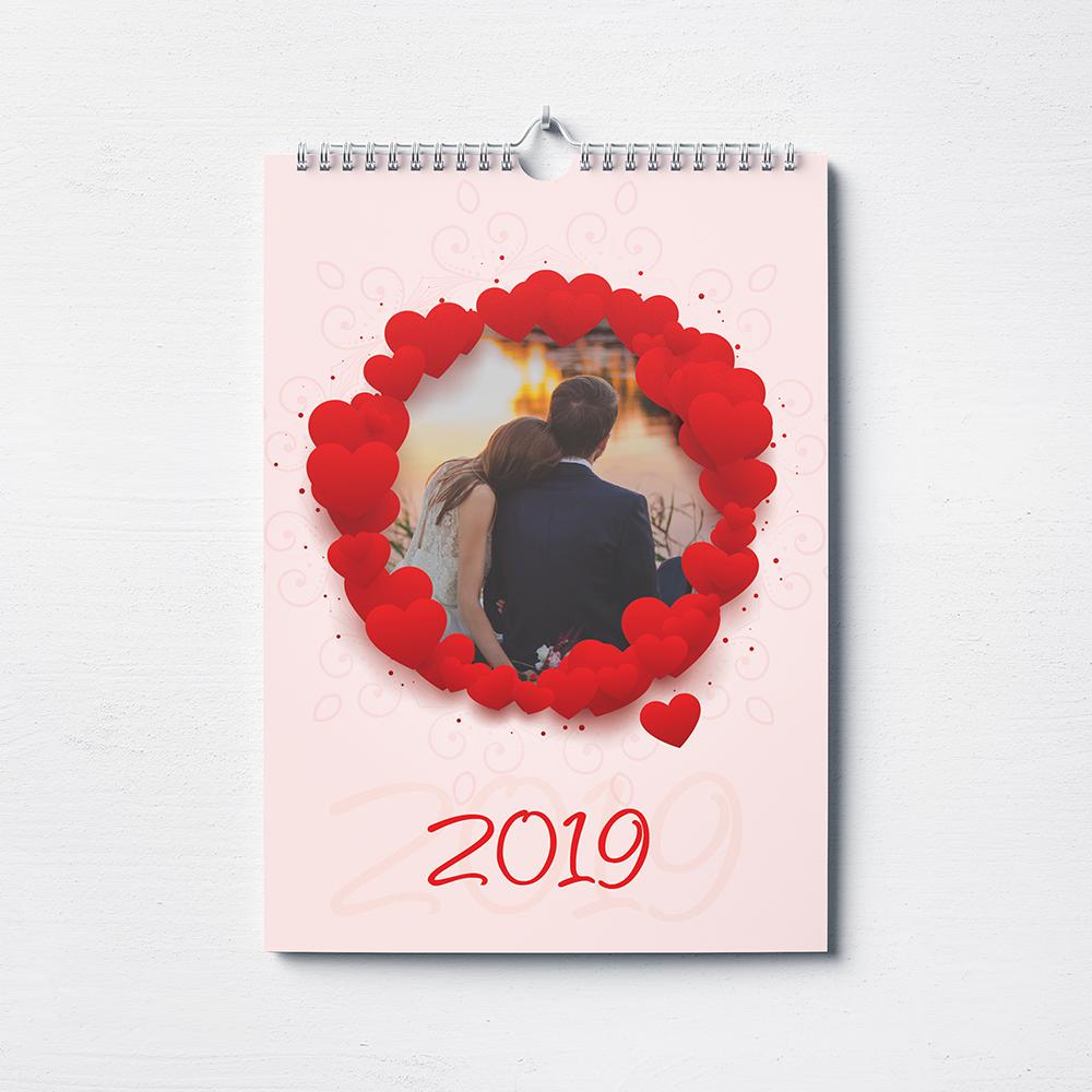Calendario personalizzato Love