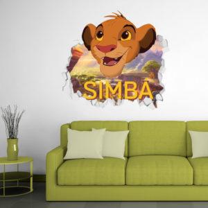 Adesivo 3D ~ Simba