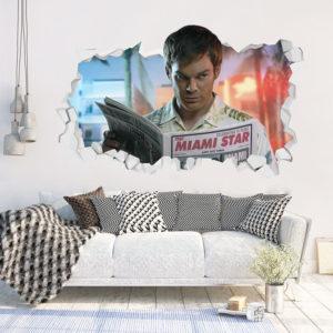 Adesivo 3D ~ Dexter Morgan