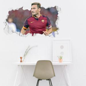 Adesivo 3D ~ Francesco Totti