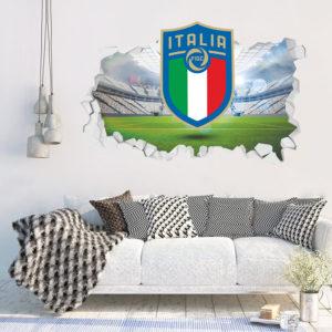 Adesivo 3D ~ Scudetto Italia