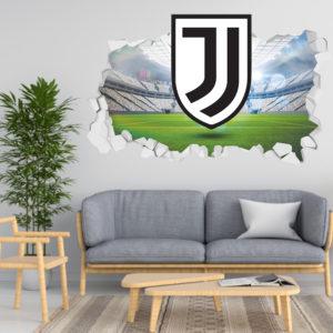 Adesivo 3D ~ Scudetto Juventus