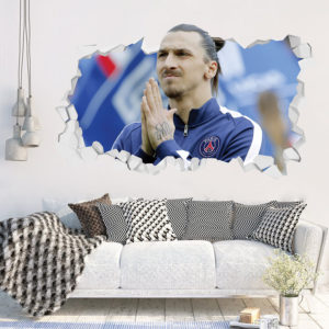 Adesivo 3D Zlatan Ibrahimovic