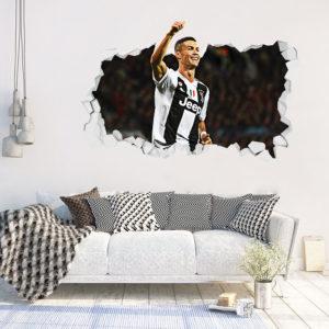 Adesivo 3D ~ Cristiano Ronaldo